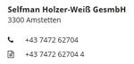 Gas-Wasser-Heizung Holzer-Weiß GmbH
